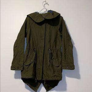 Obey khaki utility jacket size medium